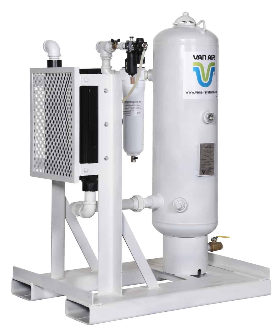 185 - 250 cfm Air After Cooler and Water Separator Rental in Calgary, Edmonton, Red Deer, Fort McMurray Alberta