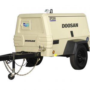 Doosan XP200 - Air Compressor For Rental - Calgary, Edmonton, Fort McMurray, Lethbridge Alberta