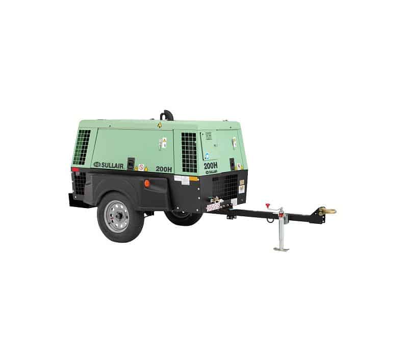 200 260 Cfm Portable Diesel Air Compressor Rental