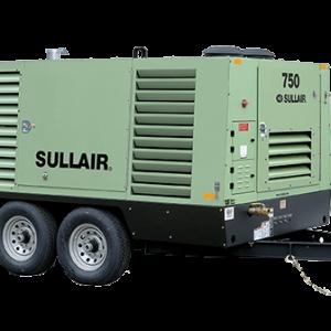 Sullair 750H - 750 CFM Portable Towable Air Compressor Rental in Calgary, Edmonton, Fort McMurray, Lethbridge Alberta
