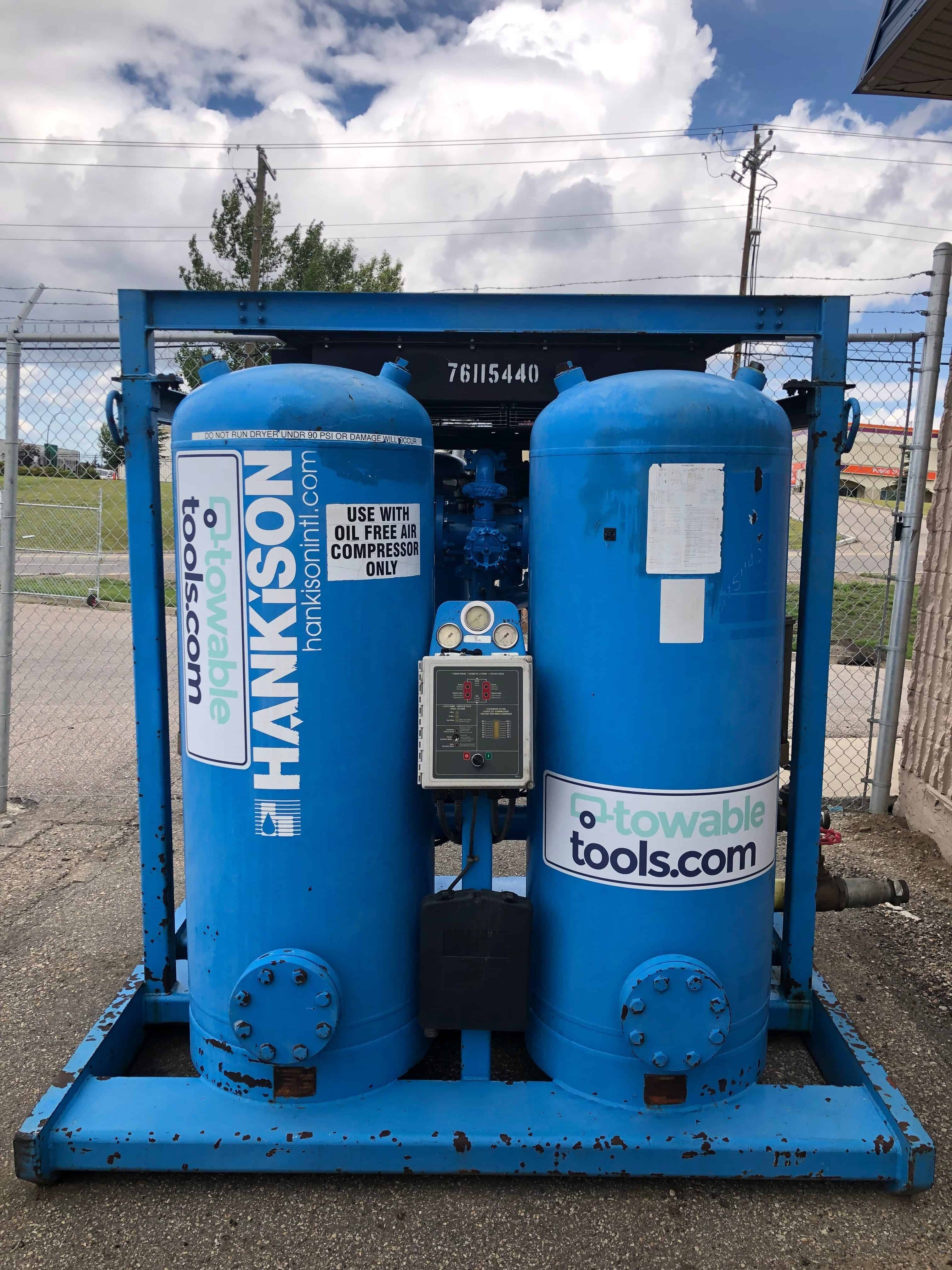 1600 cfm desiccant air dryer for sale and rental in Calgary, Alberta - Towable Tools