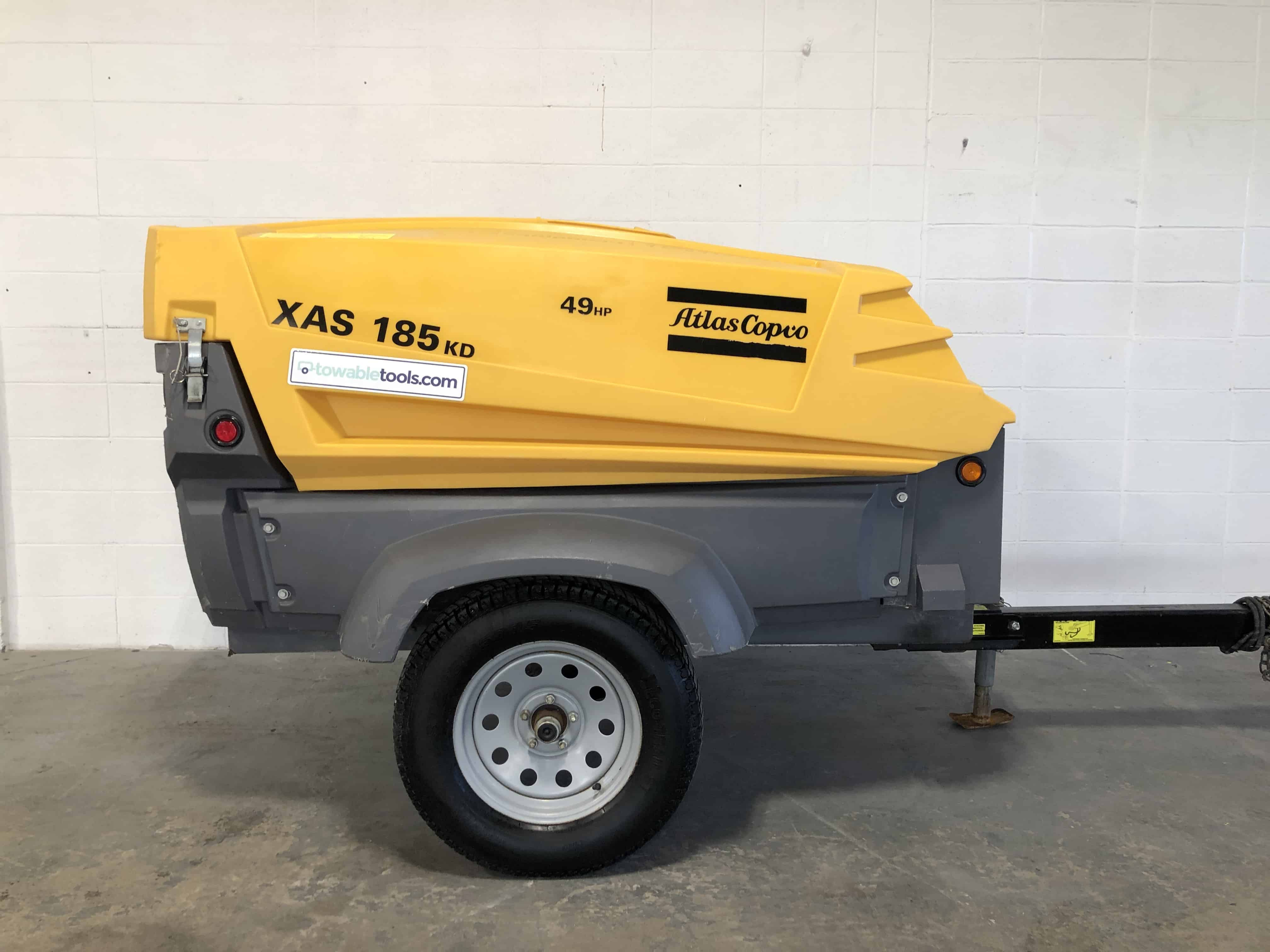 2015 Atlas Copco XAS 185 CFM air compressor for sale at Towable Tools