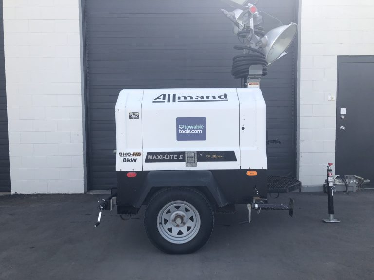 8 kw diesel light tower and generator for sale in Alberta - Towable Tools