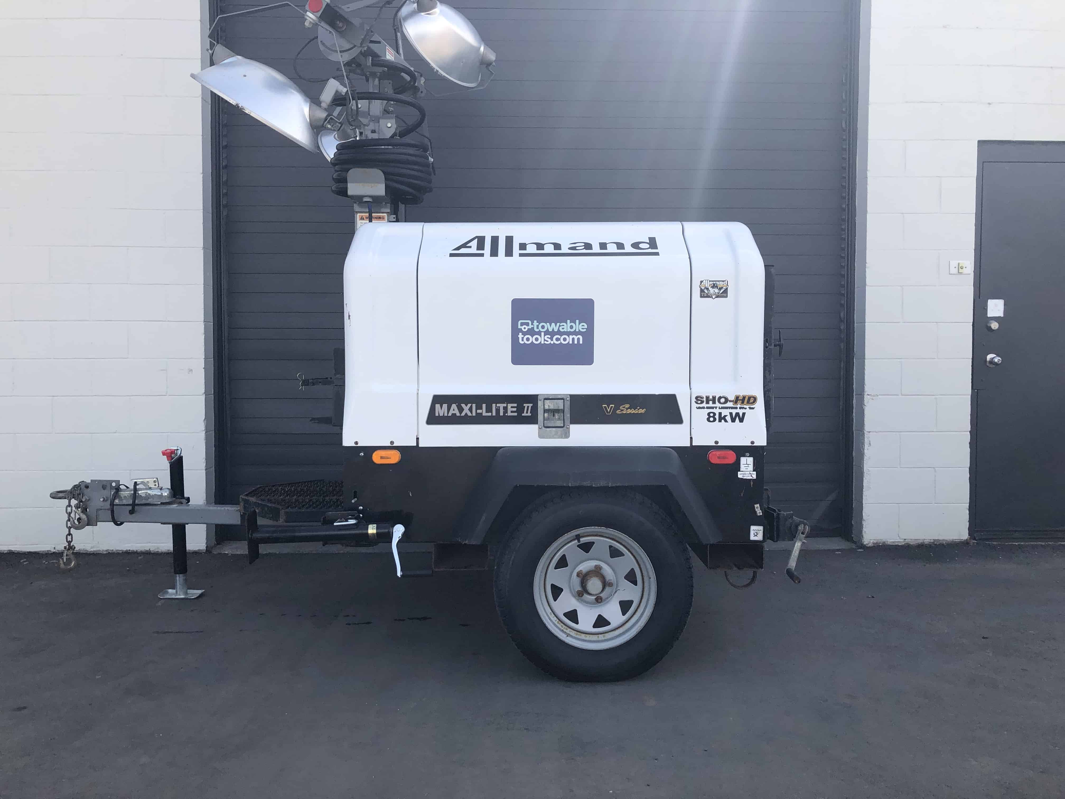 Used Allmand Maxi-Lite II 8kw for sale - Towable Tools
