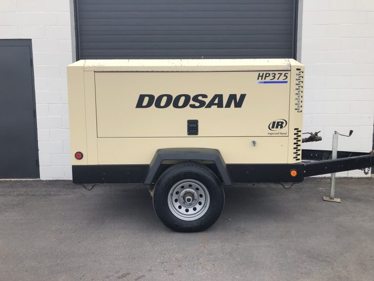 Used Doosan HP375 for sale high pressure air compressor