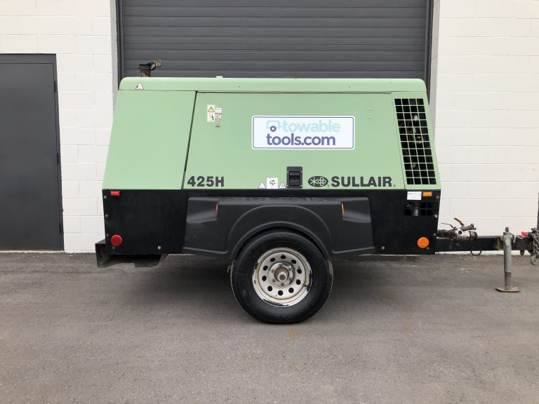 high pressure diesel Sullair air compressor 425 for sale at Towable Tools
