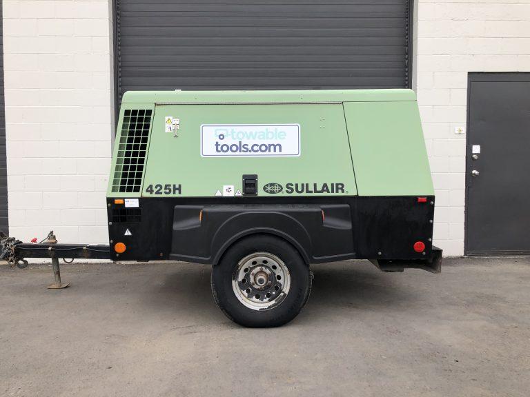 Used 425 CFM diesel air compressor for sale - Sullair 425H at Towable Tools, Alberta Canada