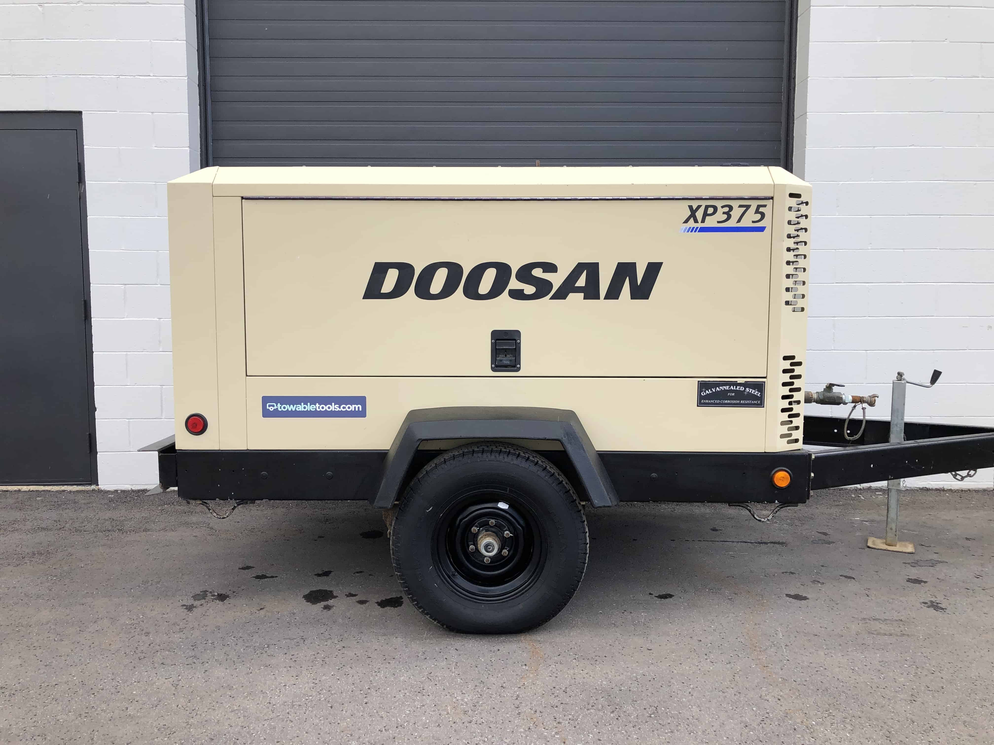 Ingersoll Rand 375 CFM compressor for sale at Towable Tools, Calgary