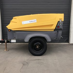 Used Atlas Copco 185 cfm compressor for sale in Calgary, Alberta Canada - Towable Tools