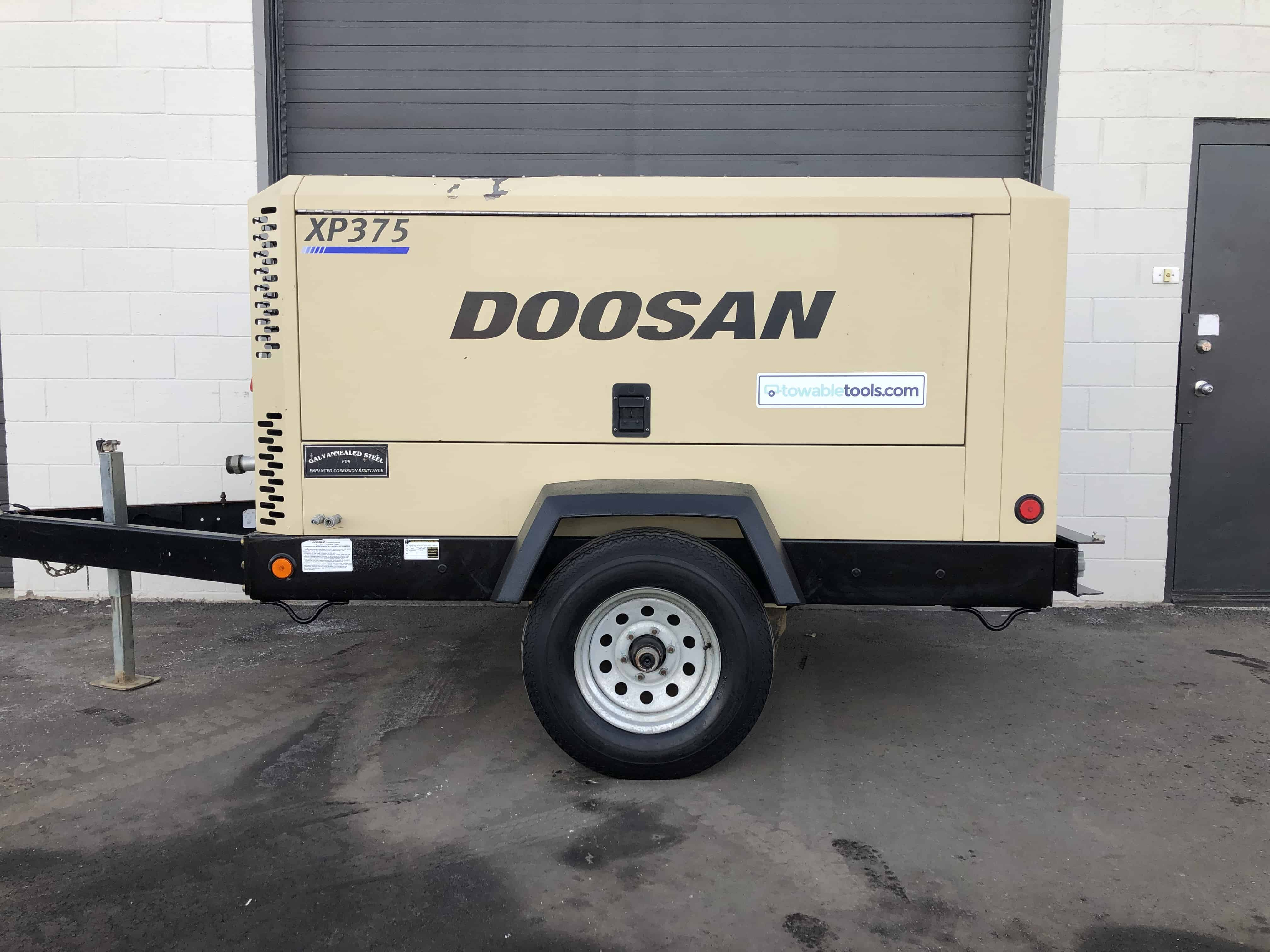 Used Doosan 375 Compressor For Sale at Towable Tools British Columbia