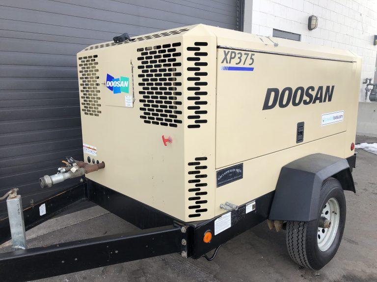 Used Doosan 375 CFM Compressor For Sale in Montana