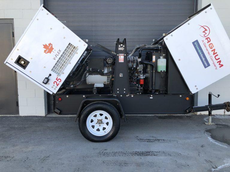 Used Magnum MMG25 20kw 3 phase diesel Generator For Sale Manitoba Winnipeg