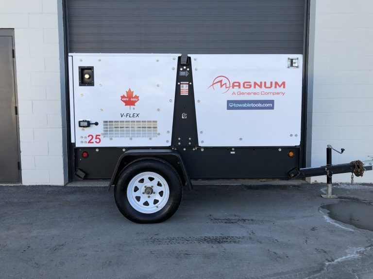 Used Generac 20 kw diesel Generator gen set For Sale at Towable Tools British Columbia