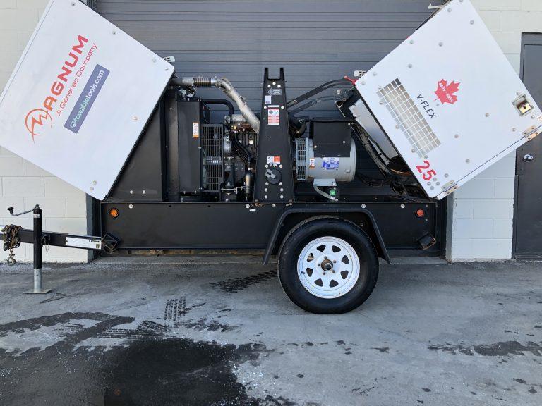 Magnum 20 kw diesel Generator For Sale at Towable Tools Saskatchewan Canada