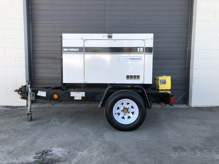 Multiquip DCA15-SPX 15 KW Genset for sale at Towable Tools Saskatoon SK