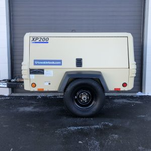 Used Doosan XP200 200 cfm Air Compressor For Sale - Towable Tools Alberta Canada