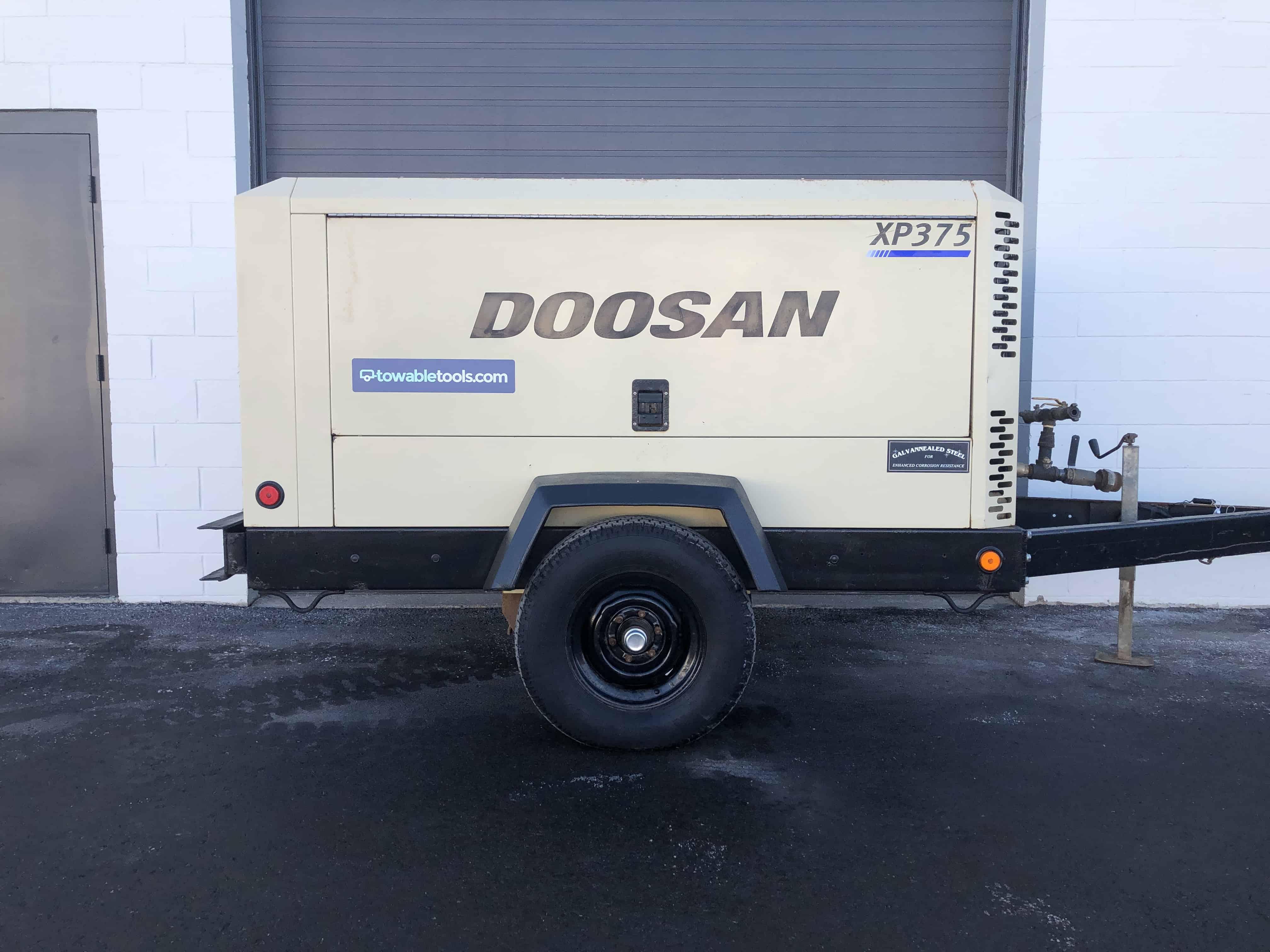 Doosan XP375WJD-FX-T3 Air Compressor for sale Towable Tools Calgary Alberta Canada