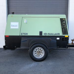 used sullair 375 portable diesel air compressor for sale at Towable Tools Montana, Idaho, Dakota