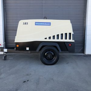 Doosan 185 CFM Air Compressor For Sale at Towable Tools Calgary Alberta, SK, MB, ON & BC