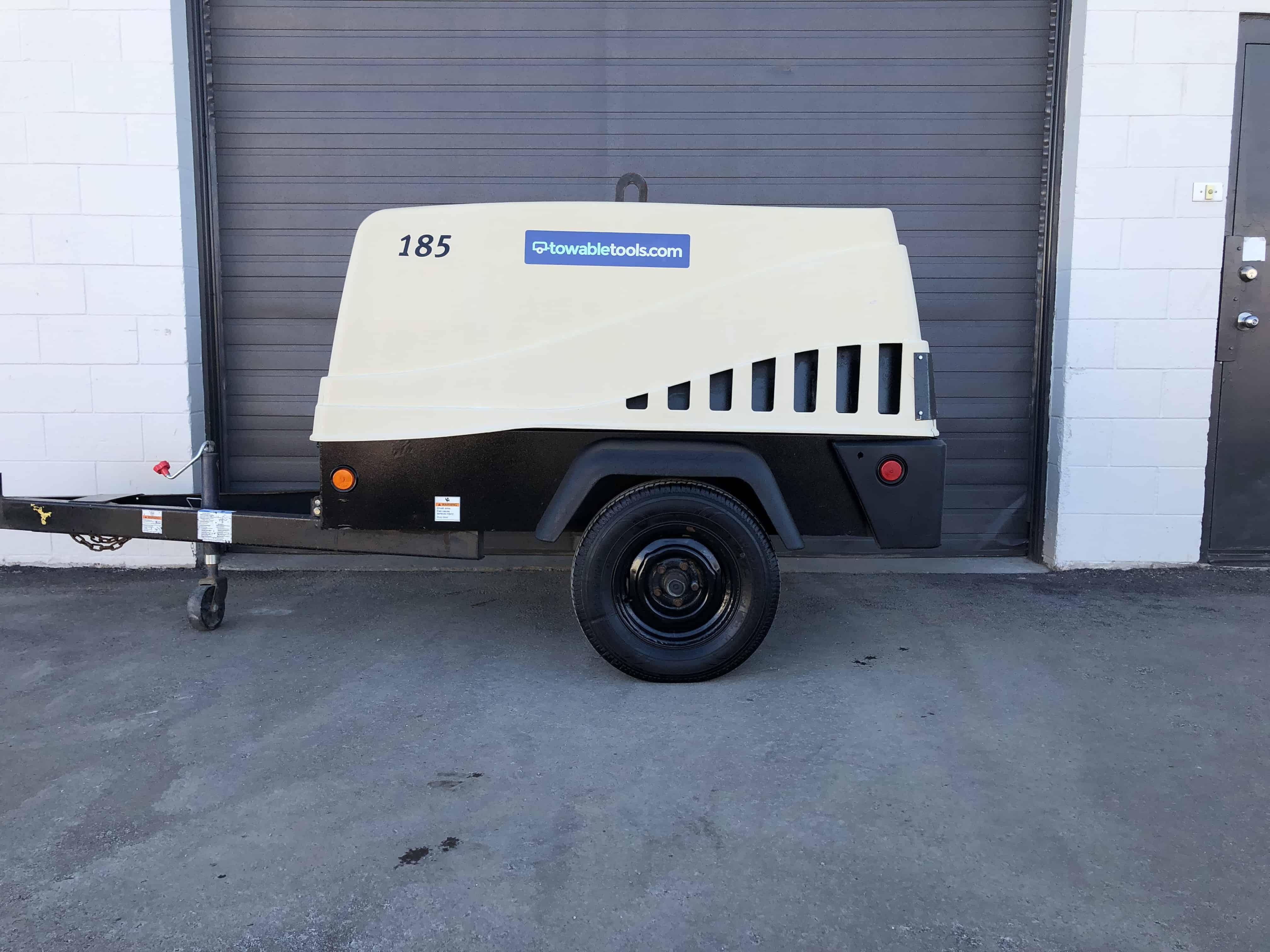 Doosan 185 CFM Air Compressor For Sale at Towable Tools Calgary Alberta, SK, MB, ON & BC