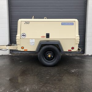 260 CFM Air Compressor For Sale, Used Doosan P260 at Towable Tools Alberta