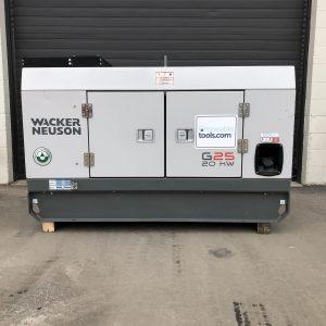 Wacker Neuson 20kw generator for sale in Winnipeg, Brandon Manitoba