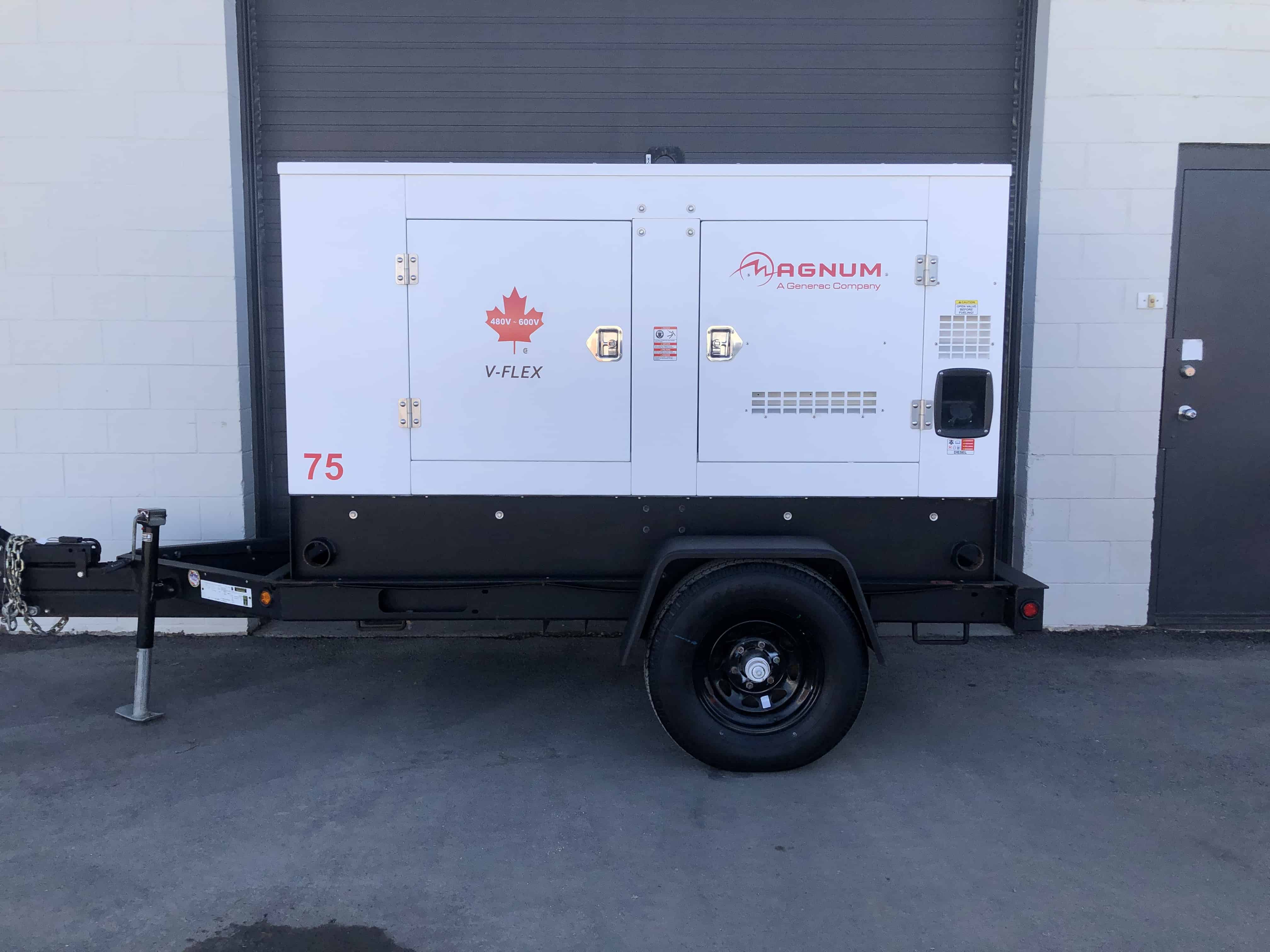 Generac MMG75 generator for sale 58kw in Saskatoon, Regina, Saskatchewan