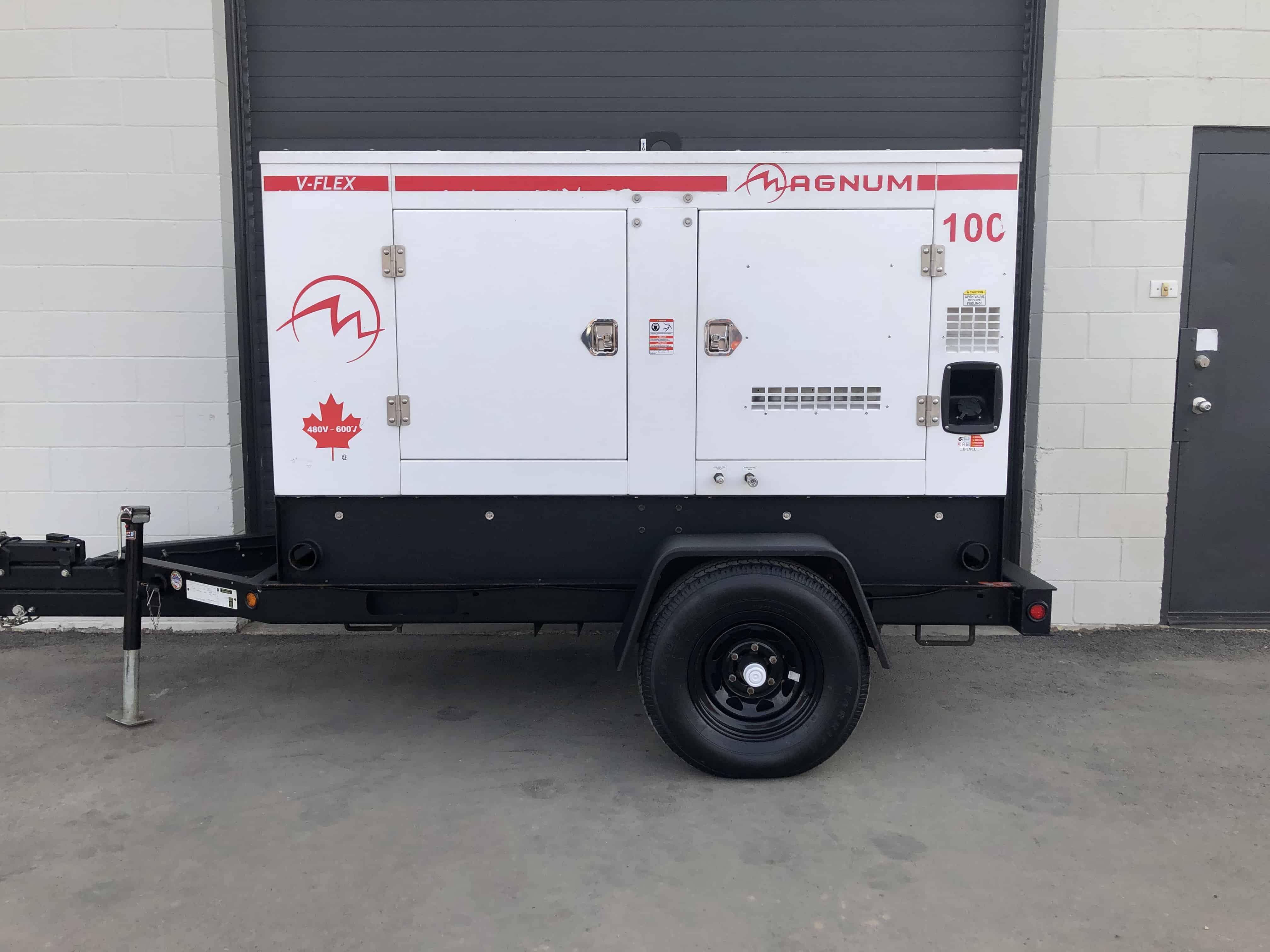 Used Magnum Generac MMG100CAN6 generator for sale in Winnipeg Manitoba
