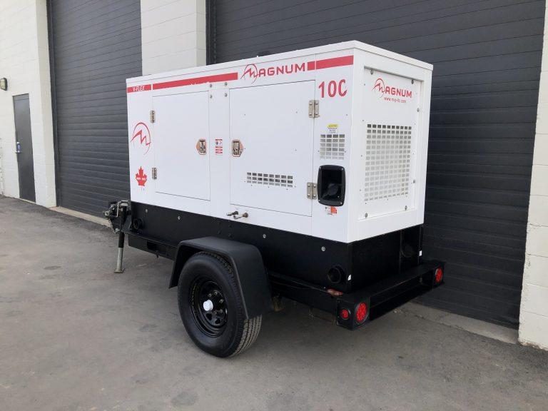 Used Generac MMG100 78KW diesel genset generator for sale in Vancouver BC