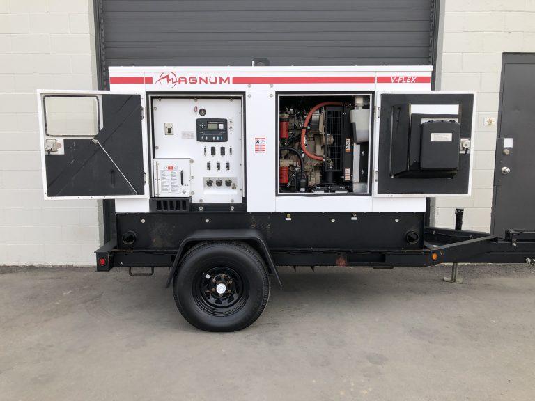 Used 100KVA diesel genset for sale in Alberta Canada