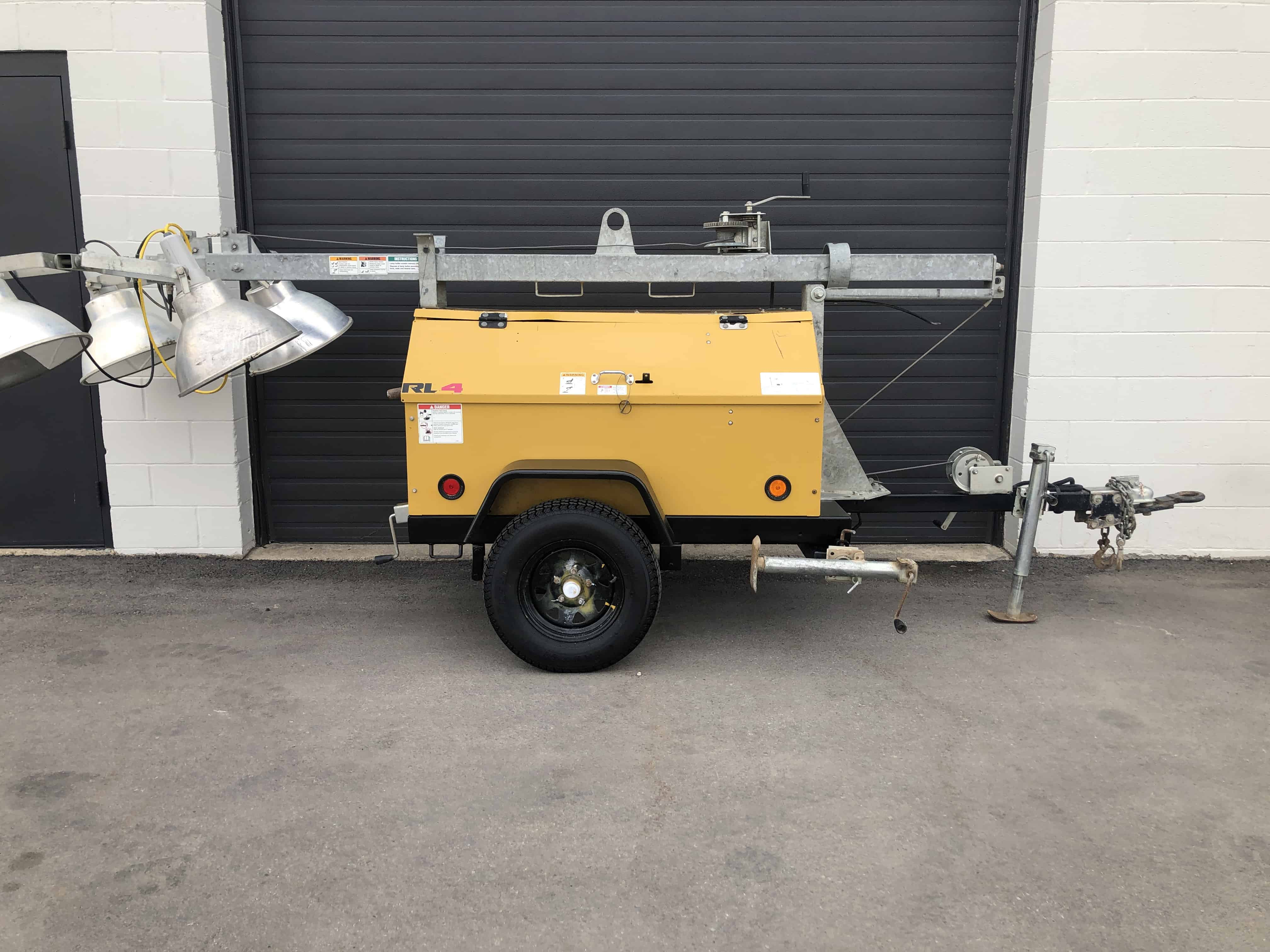 Used Terex RL4 6kw light tower for sale Vancouver, Kelowna BC