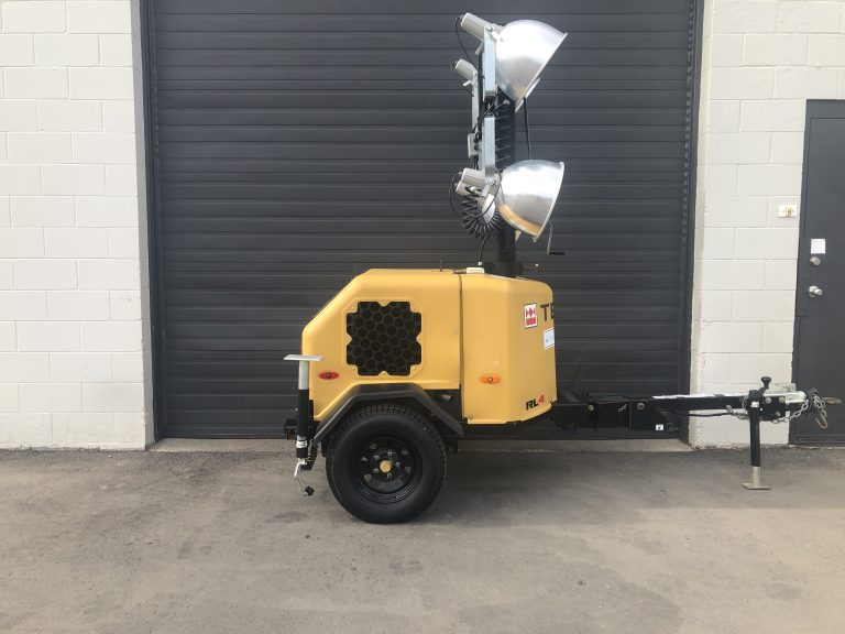 Used Terex RL4 V2 light tower for sale in Vancouver British Columbia