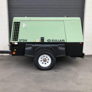 sullair 375 CFM diesel air compressor for sale in Calgary Alberta, Canada