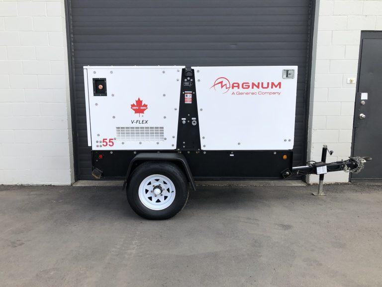 Magnum MMG55 generator for sale diesel 40kw Calgary, Edmonton AB Canada