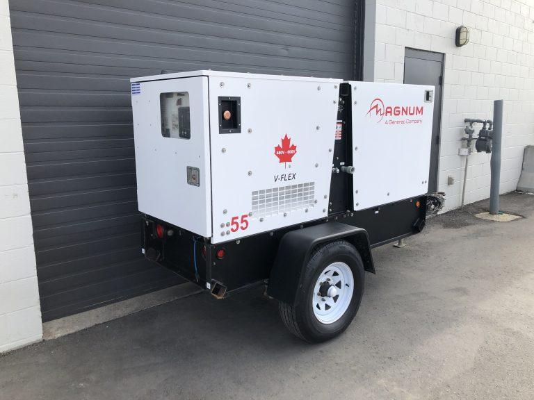 40kw 45kw Magnum MMG55 generator for sale diesel genset in Winnipeg Manitoba Canada