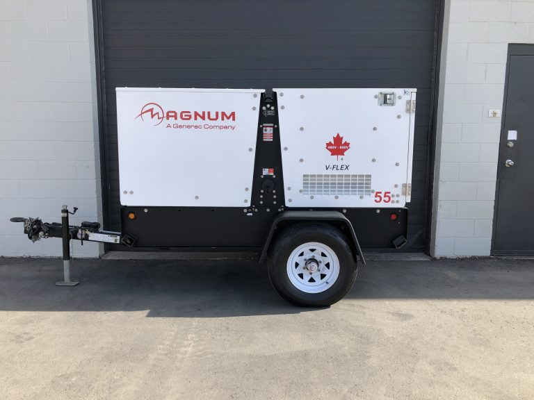 Used Magnum MMG55 generator for sale diesel 45kw Kelowna, Vancouver BC Canada