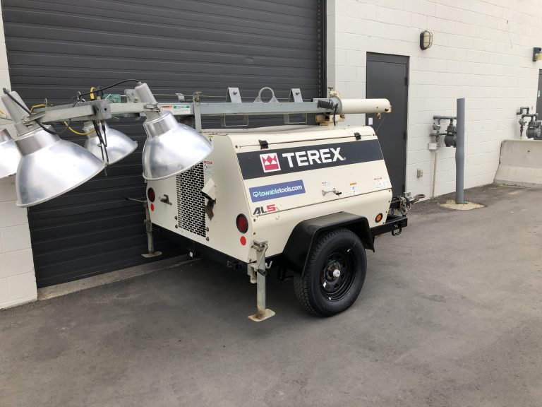 Terex 20kw diesel light tower and generator for sale in Alberta