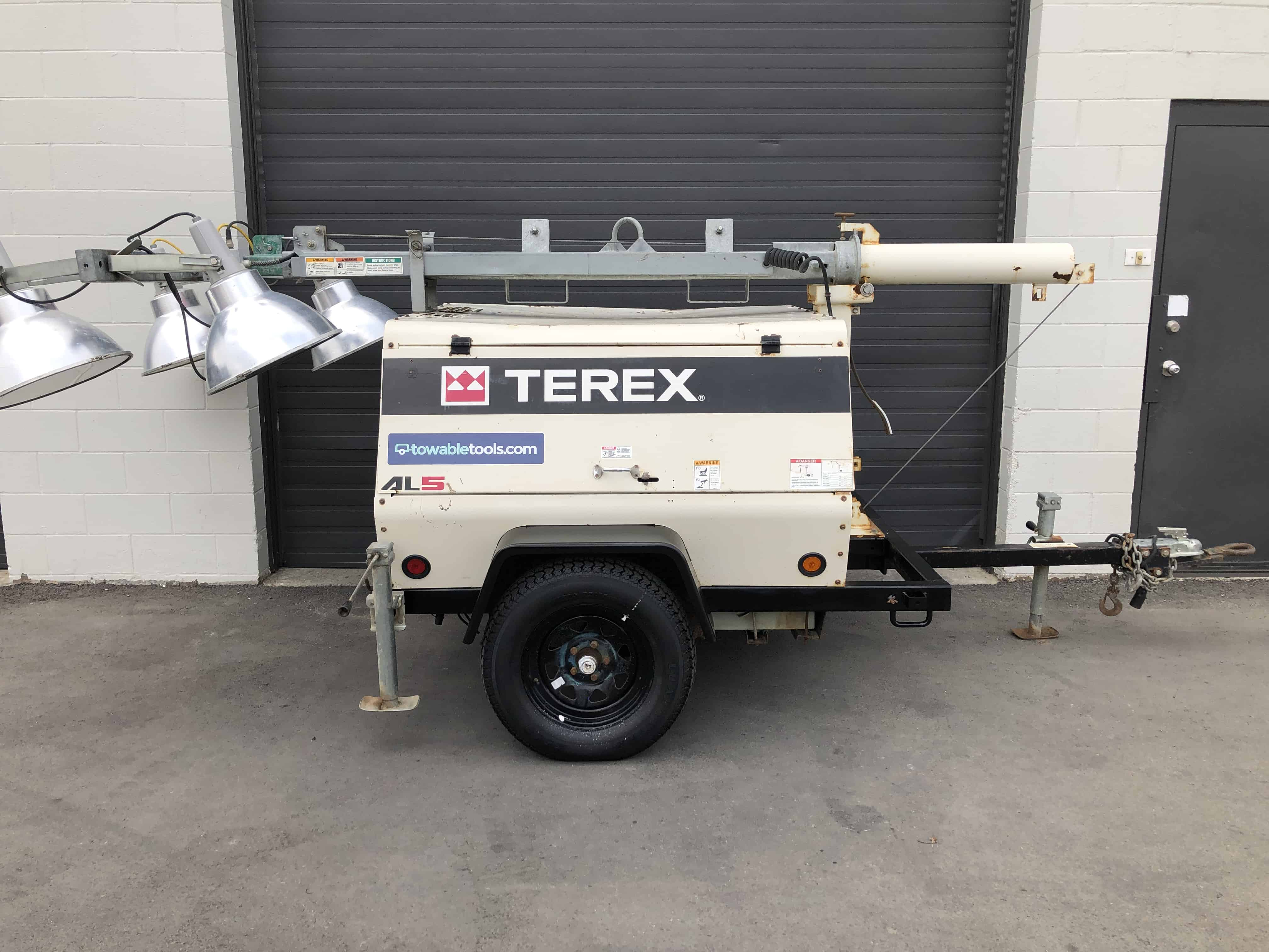 Terex 20kw light tower for sale in Calgary Alberta Canada