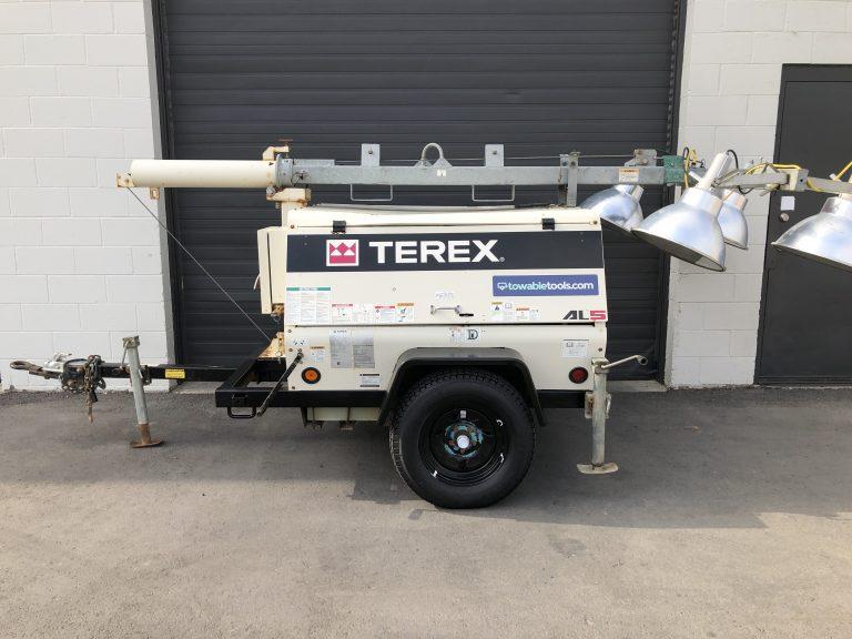 Terex 20kw diesel light tower generator for sale in Kelowna Vancouver BC