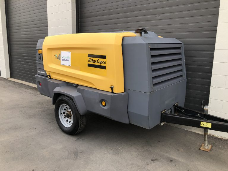 400 cfm diesel air compressor for sale in Winnipeg MB and Toronto Ontario. Atlas Copco XATS 400
